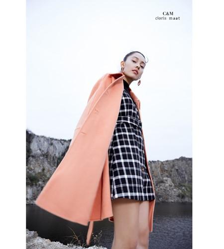 CLORIS MAAT、DR女�b品牌2019秋冬知性毛呢大衣