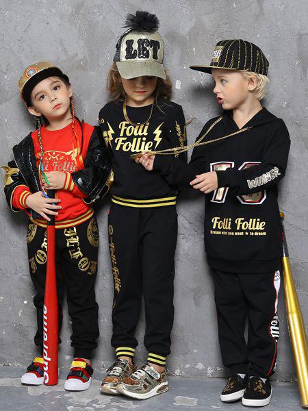 Folli Follie童装品牌2019秋冬新品个性套装 百搭