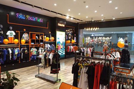Folli Follie品牌店铺展示