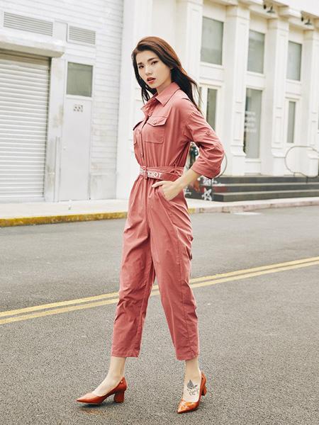 宝洛莎女装品牌2019秋冬连体裤