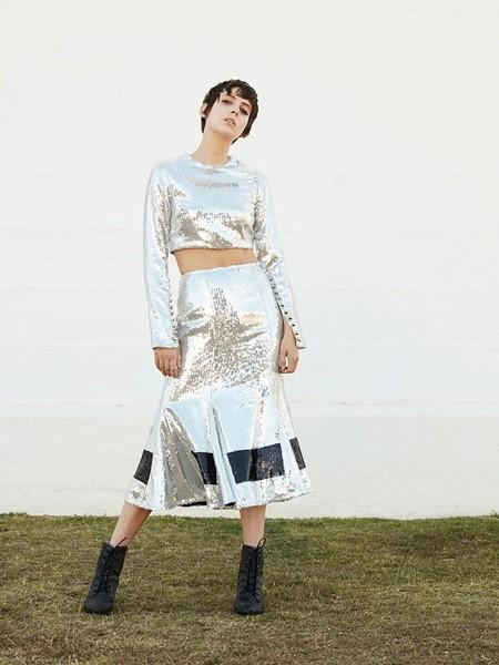 macgraw国际品牌品牌时尚修身套装裙
