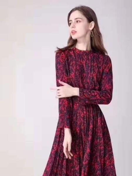 广州莎奴2020春装裙/裤品牌2020春夏新品