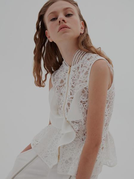 United Wood国际品牌品牌蕾丝甜美衬衣