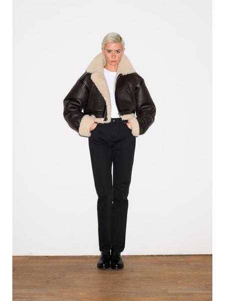 Alexander Terekhov国际品牌品牌短款加绒夹克