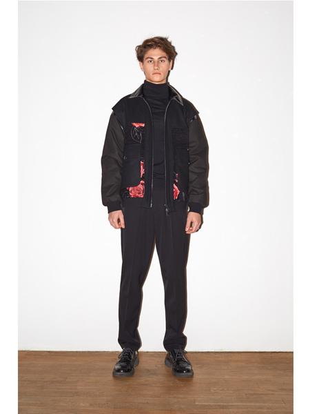 Alexander Terekhov国际品牌品牌加绒印花羽绒服