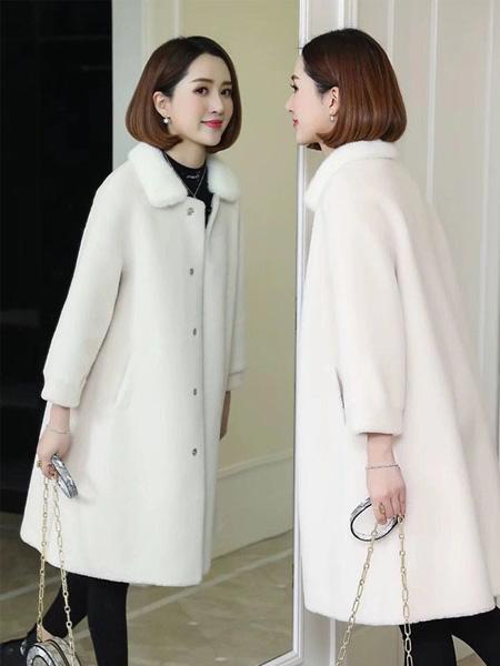 佳美优品女装品牌2019秋冬保暖大衣