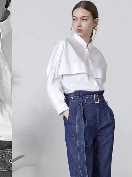 司合伊女装品牌2019秋冬百搭衬衫