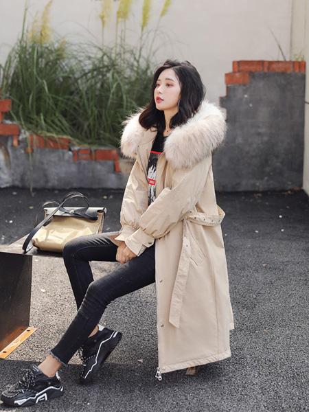 薇诺女装品牌2020秋冬韩版大衣