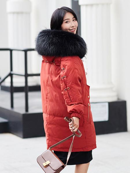 薇诺女装品牌2020秋冬时尚外套