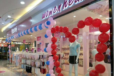 女人心品牌店铺展示