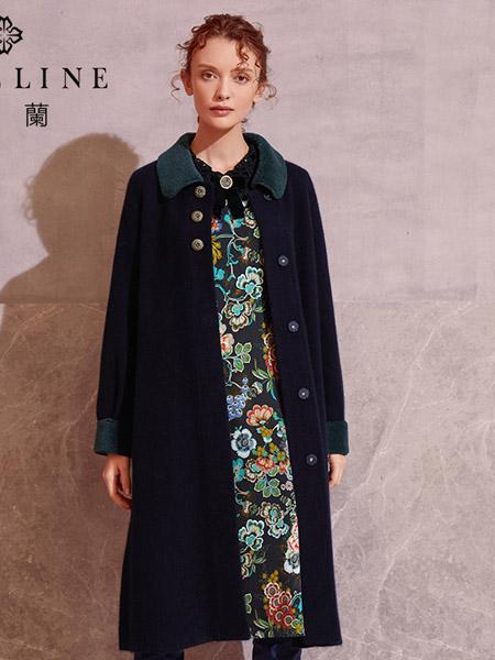 沐兰 - MORELINE女装品牌2019秋冬修身大衣