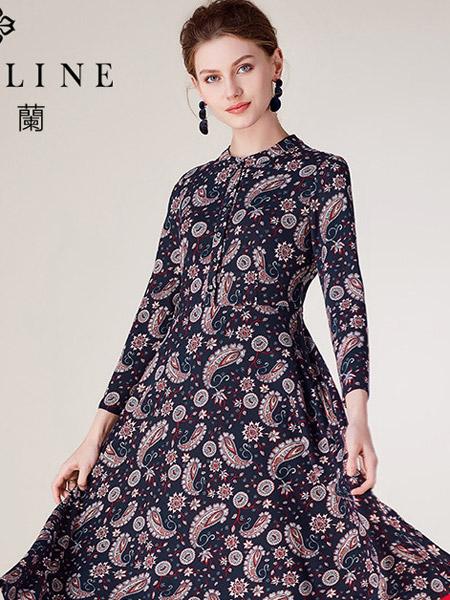 沐兰 - MORELINE女装品牌2019秋冬长袖裙子