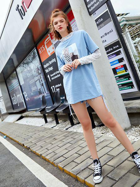 贝珞茵女装2019秋时尚两件套