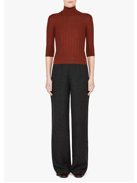Loro Piana国际品牌品牌高领针织毛衣