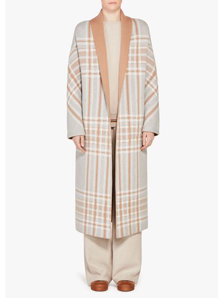 Loro Piana国际品牌品牌时尚格子外套