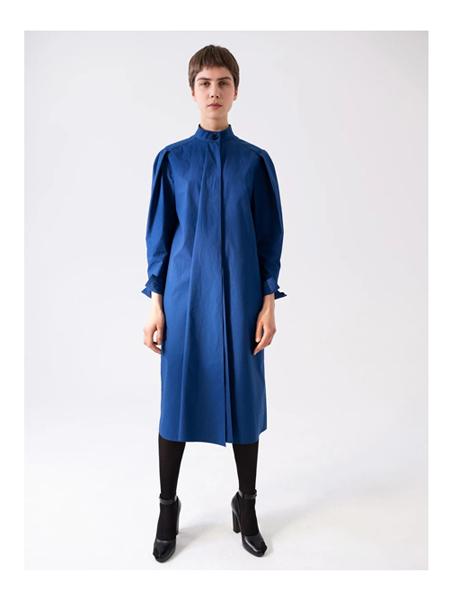 Lemaire国际品牌品牌时尚棉麻连衣裙