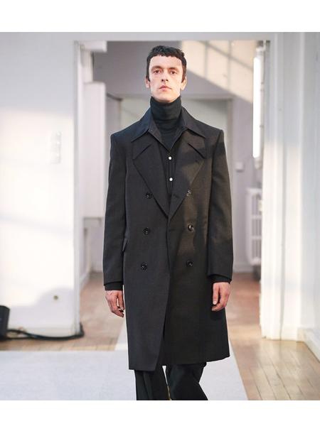 Lemaire国际品牌品牌男士毛呢大衣
