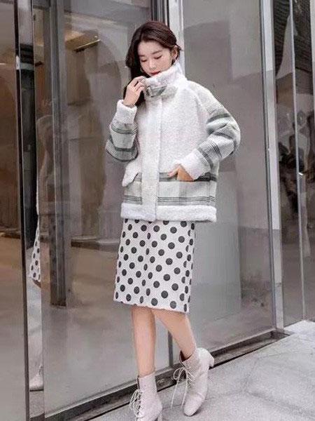 buda-peis布达佩斯女装品牌2019秋冬韩版清新羽绒服