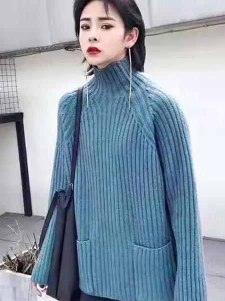 buda-peis布达佩斯女装品牌2019秋冬毛衣日系淑女