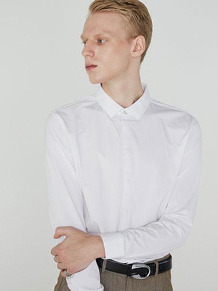 微奢零度男装品牌2019秋冬焦点系列-长袖白色