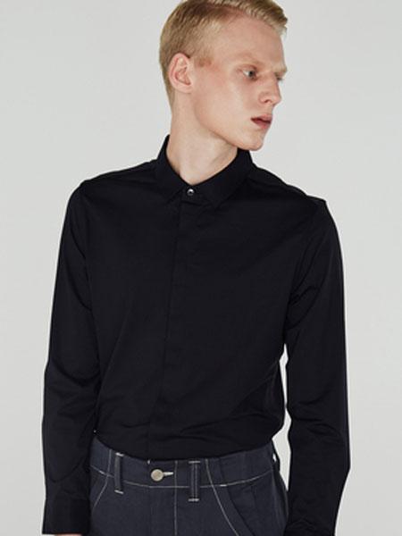 微奢零度男装品牌2019秋冬焦点系列-长袖黑色