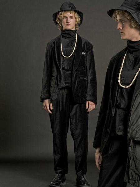 Engineered Garments国际品牌品牌丝绸男士外套