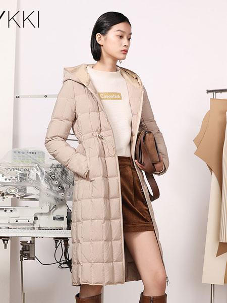 IVYKKI女装品牌2019秋冬长款羽绒服