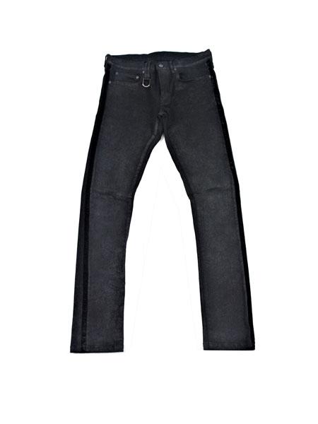 Roen国际品牌品牌2019秋冬新款纯色裤子 显腿