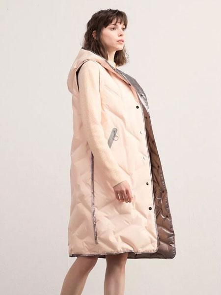 熙然女装品牌2019秋冬长裤羽绒马甲 百搭