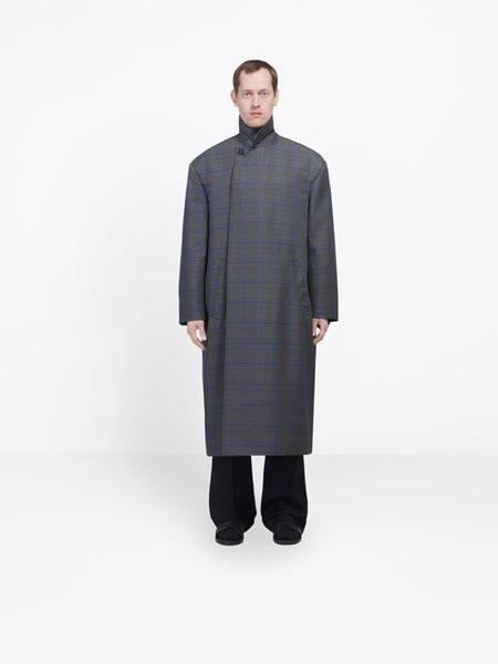 Balenciaga巴黎世家国际品牌品牌2020春夏新款薄棉男个性大衣