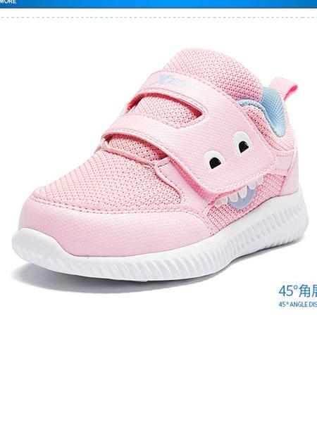 特步(中国)有限公司国际品牌品牌2019秋冬儿童运动鞋减震旋科技女童跑鞋中大童鞋子