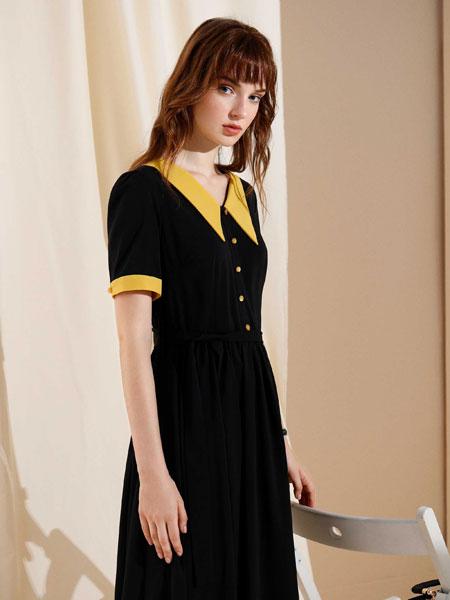 MOANLUO女装品牌2020春夏显瘦裙子