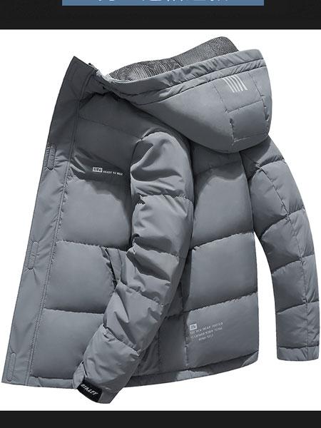 阿仕顿男装羽绒服男短款连帽加厚潮流衣服保暖帅气白鸭绒冬季外套
