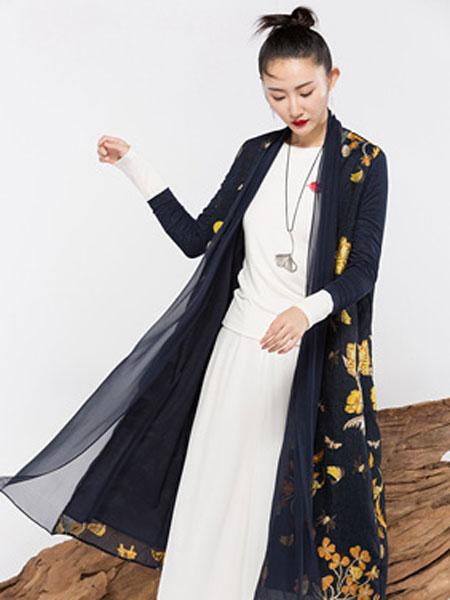 晒谷场女装品牌2019秋冬开衫新款