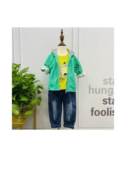 广州市开心一百品牌童装折扣批发,品牌童装折扣库存