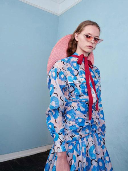 SLEEP OVER SLEEP国际品牌品牌2020春夏新款印花裙子
