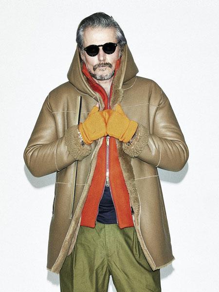 junhashimoto国际品牌品牌2019秋冬新款皮质大衣