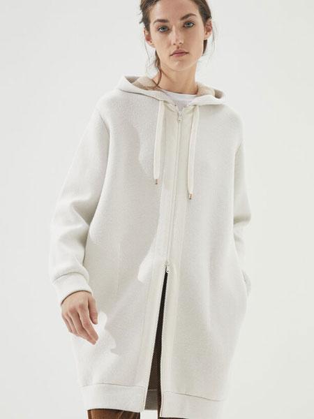 Brunello Cucinelli布鲁奈罗·库奇内利国际品牌2019秋冬带风帽的羽绒服