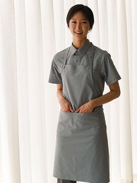 A.MONT国际品牌品牌2019秋冬新款灰色全身围裙