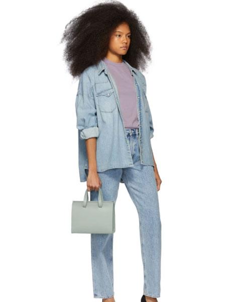 AGOLDE国际品牌品牌2020春夏蓝色 90's 中腰宽松牛仔裤