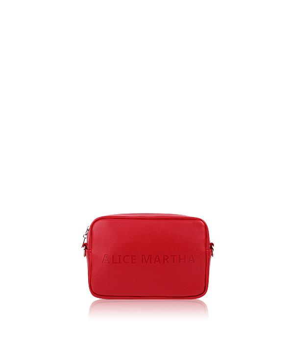 AMBIVALENCE国际品牌品牌2019秋冬新款红色格子手拿包