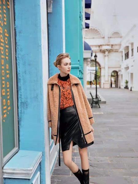 欧点女装品牌2020春夏新款毛衣外套