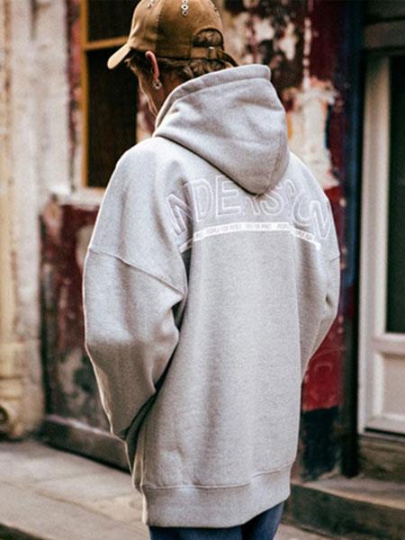 Andersson Bell国际品牌品牌2019秋冬男女同款字母刺绣卫衣潮