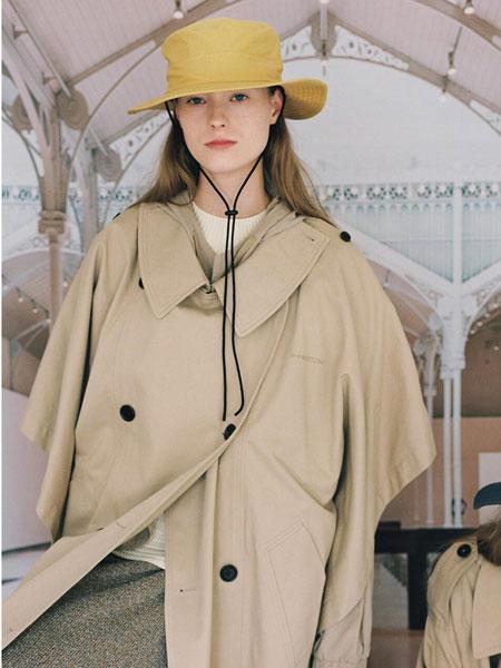 AWESOME NEEDS国际品牌品牌2020春夏简约迷你男女同款抽绳礼帽_黄色