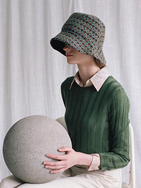 AWESOME NEEDS国际品牌品牌2020春夏经典基础款毛呢男女同款渔夫帽_绿色