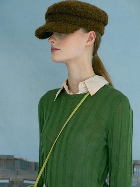 AWESOME NEEDS国际品牌品牌2020春夏经典帅气粗呢男女同款海军帽_棕色