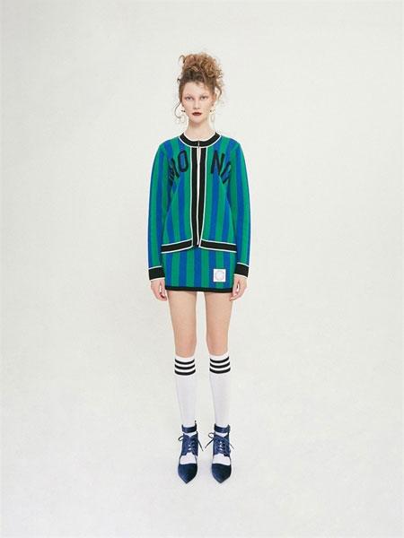 Chris by Christopher Bu国际品牌品牌2020春夏新品女士Mono条纹针织开衫