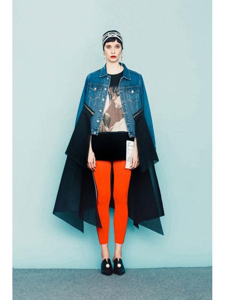 Chris by Christopher Bu国际品牌品牌2020春夏红色针织长裤