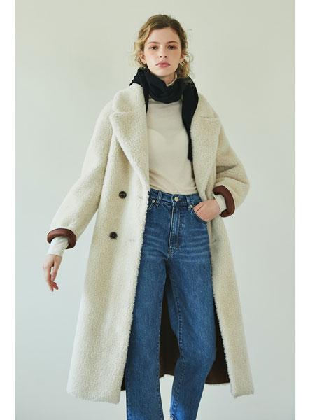 BLANK03国际品牌品牌2019秋冬新款羊绒纯色大衣