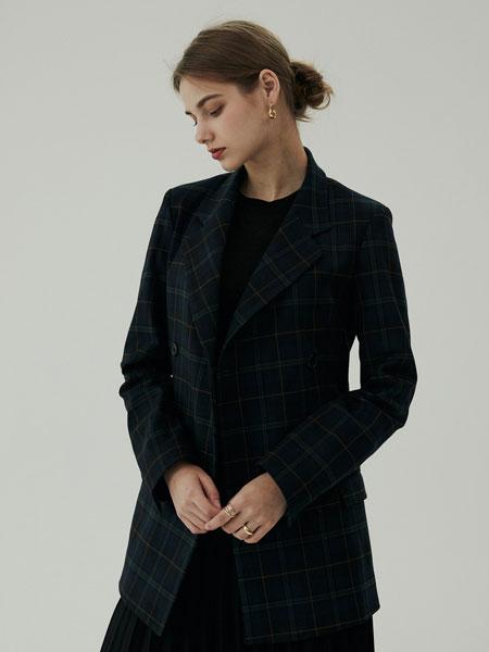 BLUV国际品牌2019秋冬新款纯色羊绒大衣